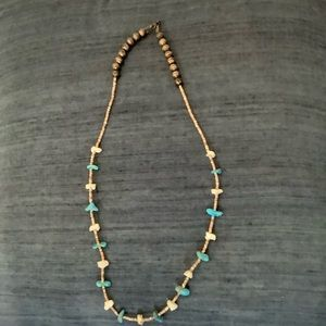 Vintage Turqoise & Silver Necklace